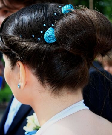 cable stitch: chignon