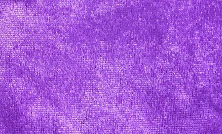 purple fabric texture Stock Photo