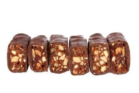 bonbon chocolat: bonbons au chocolat avec des noix