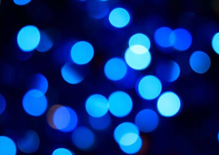 image of brightly party blue disco lights