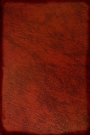 dark brown leather background