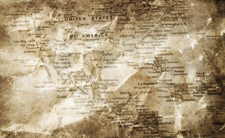 wall maps: Antiguo mapa de Am�rica