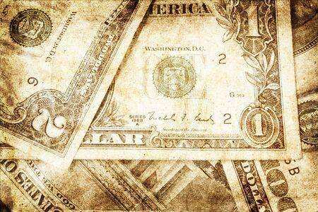 grunge money background Stock Photo - 6751088