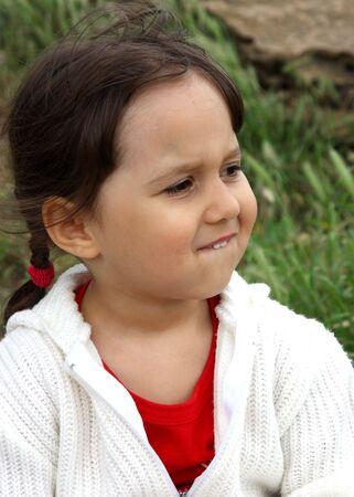 portrait of cute little girl Stock Photo - 7122171