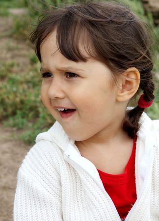cute little girl Stock Photo - 7122172