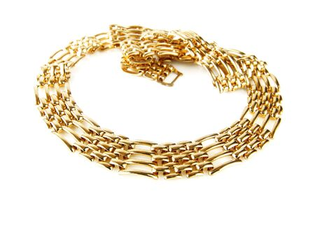 golden chain Stock Photo - 7490569