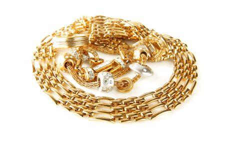 golden accessories