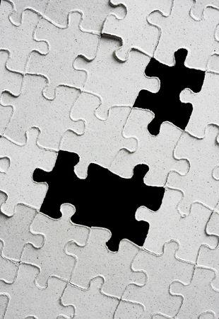 puzzle pieces photo
