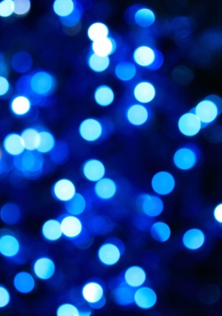 shimmer: abstract blue lights background Stock Photo