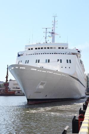 white cruise ship Stock Photo - 8627035