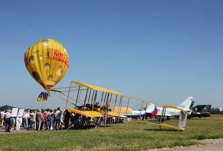 ODESSA,UKRAINE - MAY 27, 2011: Air Show devoted the 100th anniversary of Odesaviaremservice. Stock Photo - 9644176