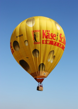 ODESSA,UKRAINE - MAY 27, 2011: Air balloon on Air Show devoted the 100th anniversary of Odesaviaremservice.