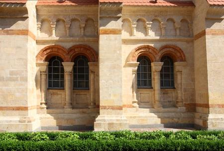 facade of catholic church photo