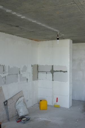 construcci�n interior photo