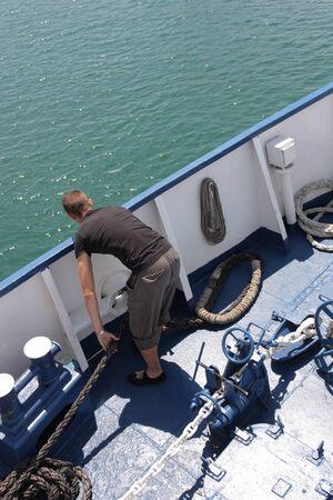 sailingboat: working man