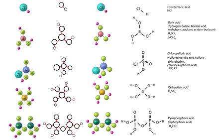 Chemie Vektorgrafik