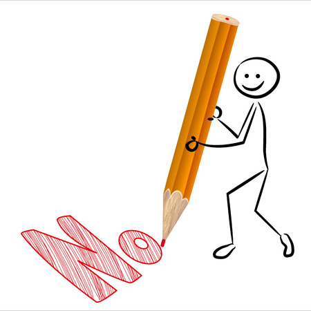 Stickman says no