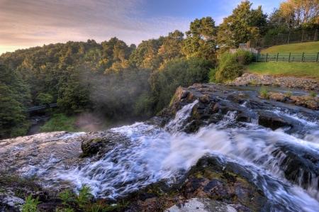 View of Whangarei Falls, New Zealand