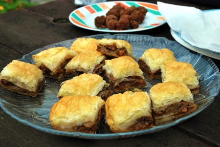 Baklava, authentic sweet pastry from Turkey