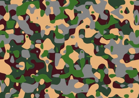 The abstract pattern of camouflage for army uniform Stock Photo - 21016878