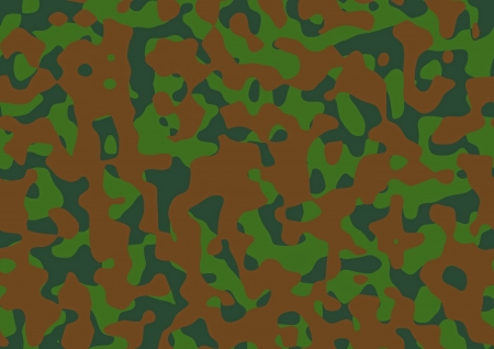 Abstract camouflage pattern for army uniform Stock Photo - 21016879