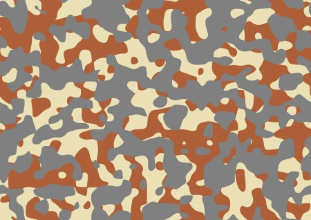 Camouflage pattern with grey, orange and yellow colours Stock Photo - 21016880