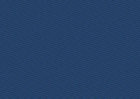 Seamless pattern and texture of denim jeans in deep blue color