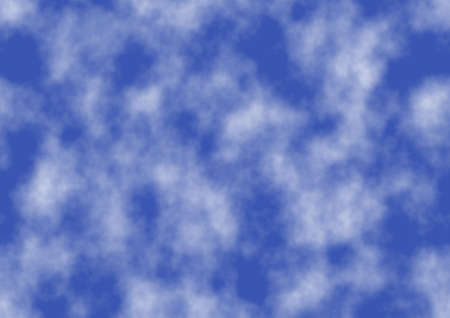 The abstract background of clouds and blue sky