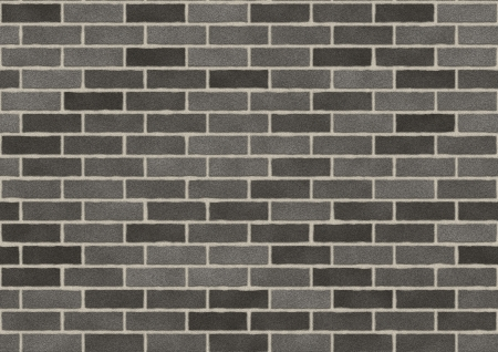 Texture of the bricks wall in various shades of grey. Stock Photo - 21463740