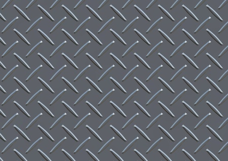 Seamless pattern of silver plate