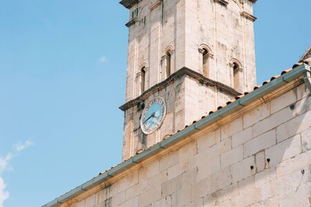 St. Nicholas Church, Old Town Perast in Montenegro