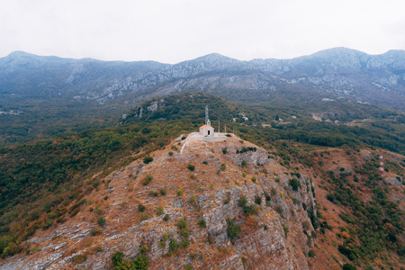 The Church of Saint Sava in Montenegro. Temples, churches, bell towers Montenegro Stock Photo