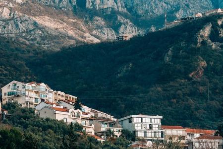 Montenegro Sveti Stefan Monastery in Sveti Stefan