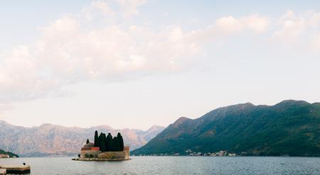 gods: The island of Gospa od Skrpela, Kotor Bay, Montenegro.
