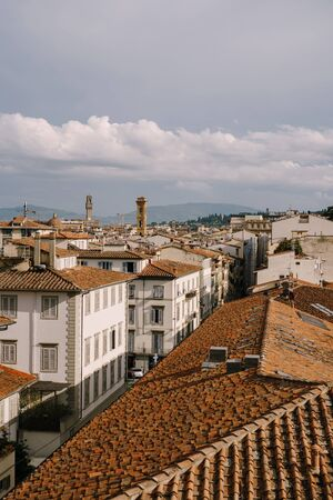 Cityscape view of Florence, Italy, on the dome of the Palazzo Vecchio Reklamní fotografie