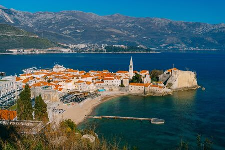 Old Town budva and Plaza Ricardova Glava