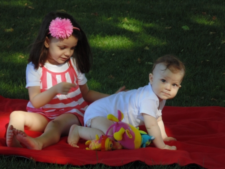 Little picnic. photo