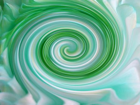 azul turqueza: fondo, líneas de colores se tuercen en espiral. líneas de colores brillantes de color turquesa, blanco, azul; verde amarillo. para el diseño. Foto de archivo