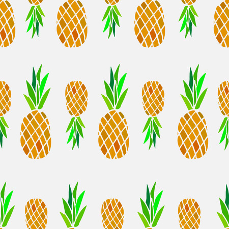 drown: Fruit pattern, hand drown, vector eps 10
