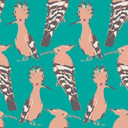 patternbackground: Birds drown seamless pattern.background. Vintage wallpaper. Colorful texture.
