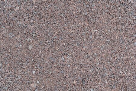 Background of small pebbles. Stone beach on the sea Banque d'images