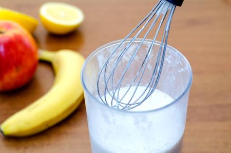 nimbus: shake up a nimbus milkshake Stock Photo