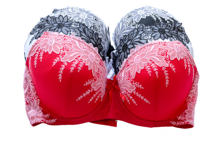 fashionable, multi-colored brassieres photo