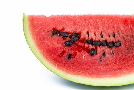 segment: water-melon segment close up the isolated