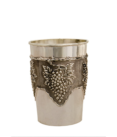 pewter mug: old cup from silver