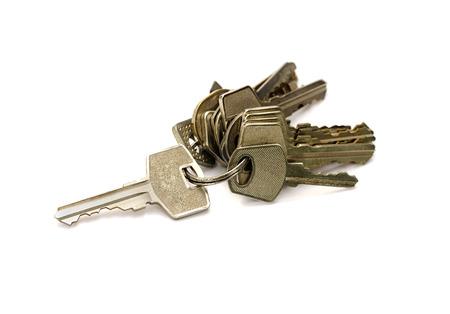 tecla enter: manojo de llaves del aisladas