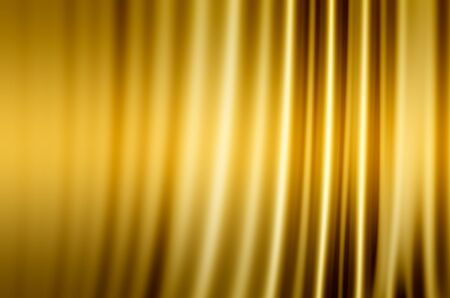 gold fabric: background abstraction gold fabric Stock Photo