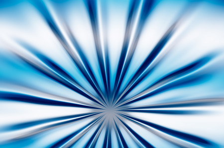 abstraction: abstraction blue beams Stock Photo