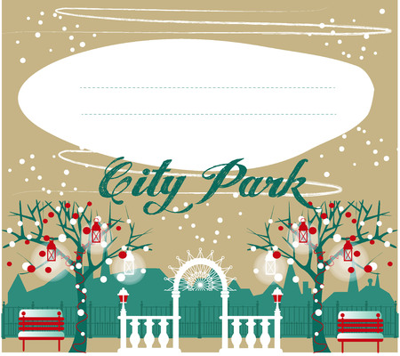 Landscape Design Constructor. City, Parks and Gardens Decoration Elements and Flora Vector Set. Fences, Lightning, Trees, Pavilions, Bridges, Yards, Gardens in Flat . Vector set With 70 Objects.