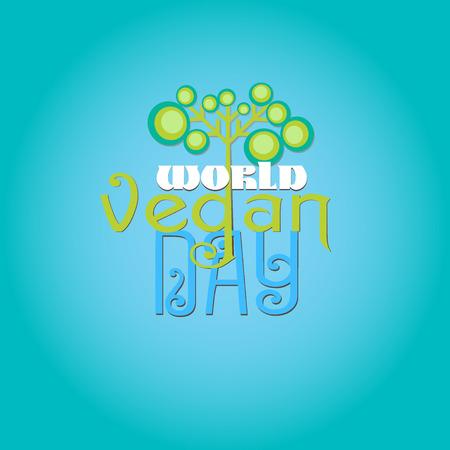 Vegan, Vegetarian food logo concept